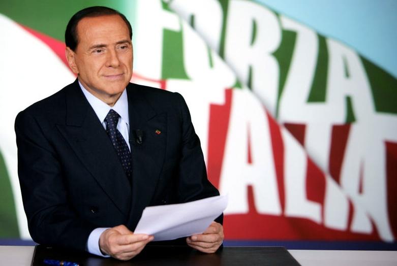 Risultati immagini per berlusconi presidente forza italia
