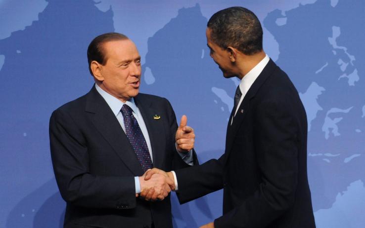 Berlusconi obama