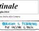 Il Mattinale – 25 luglio 2014