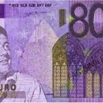 80 EURO banconota