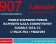 WORLD ECONOMIC FORUM, RAPPORTO SULLA COMPETITIVITA' GLOBALE 2014-15: L'ITALIA TRA I PEGGIORI
