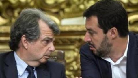 """BRUNETTA A SALVINI: """"FORZA ITALIA SEMPRE DA UNA PARTE SOLA, DALLA PARTE DEGLI ITALIANI"""""""