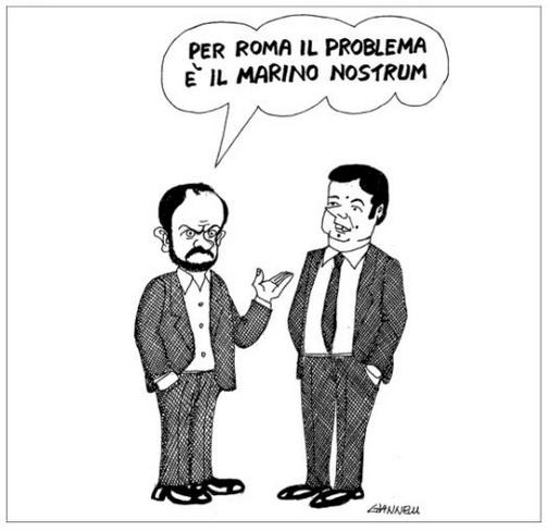 Renzi Marino Orfini GIANNELLI