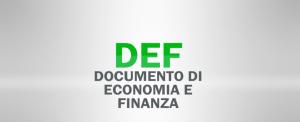 DEF doc economia finanza