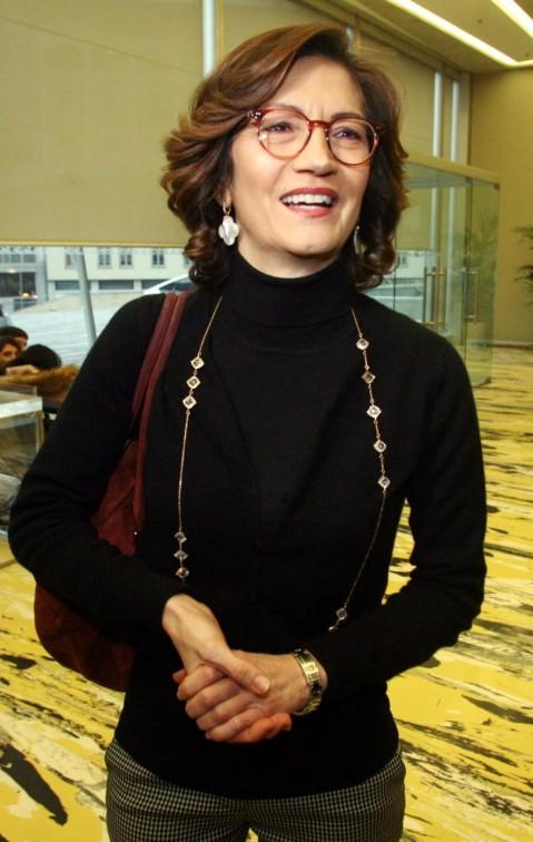 Milano, Mariastella Gelmini a un convegno organizzato al Pirellone dall'associazione Noi delle partite Iva
