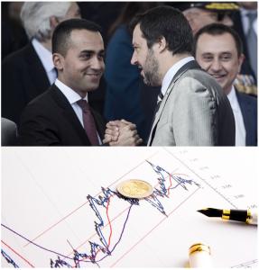 Spread governo Lega 5 stelle