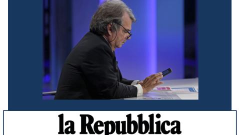"""R.BRUNETTA (Intervista a 'la Repubblica'): """"Da Salvini un'Opa ostile su Forza Italia. Governo Draghi nel 2021"""""""