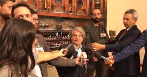 Brunetta - Montecitorio Sala Stampa