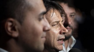 Giuseppe Conte GOVERNO Di Maio Salvini