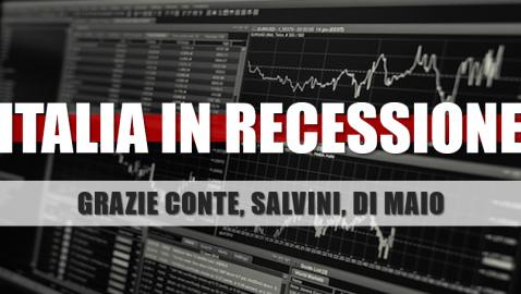 """GOVERNO: BRUNETTA, """"LITIGANO SU TUTTO, SENZA POLITICHE ECONOMICHE PRO-CRESCITA, L'ITALIA CONTINUERÀ A RIMANERE IN RECESSIONE"""""""