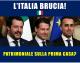 """GOVERNO: BRUNETTA, """"AUMENTO DELL'IVA, TAGLI AI SERVIZI E PROBABILE PATRIMONIALE SULLA PRIMA CASA: LA CASA-ITALIA BRUCIA E IL GOVERNO DÀ LA COLPA ALL'INSTABILITÀ ECONOMICA INTERNAZIONALE"""""""