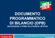 Documento programmatico di bilancio (DPB): descrizione e prime valutazioni critiche (Dossier)