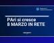 """PA, ARRIVA IL PROGETTO """"PARI SI CRESCE, 8 MARZO IN RETE"""""""