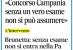 Concorso Campania: senza un vero esame non si può assumere